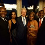 Dangote, Elumelu Celebrate With Bill Clinton @ 70