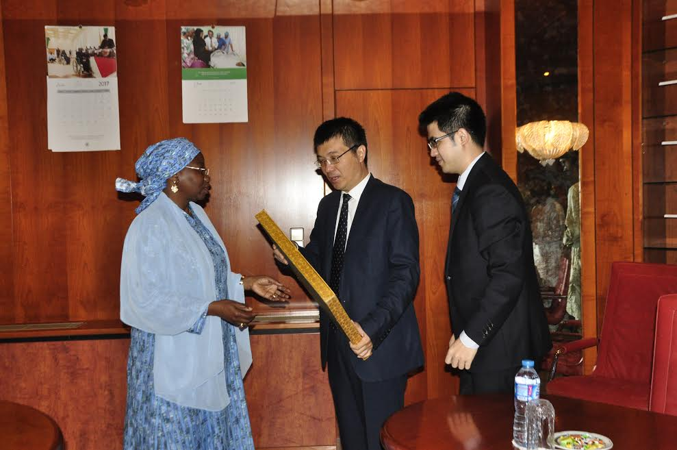 Peoples Republic Of China Donates N60M To Future Assured